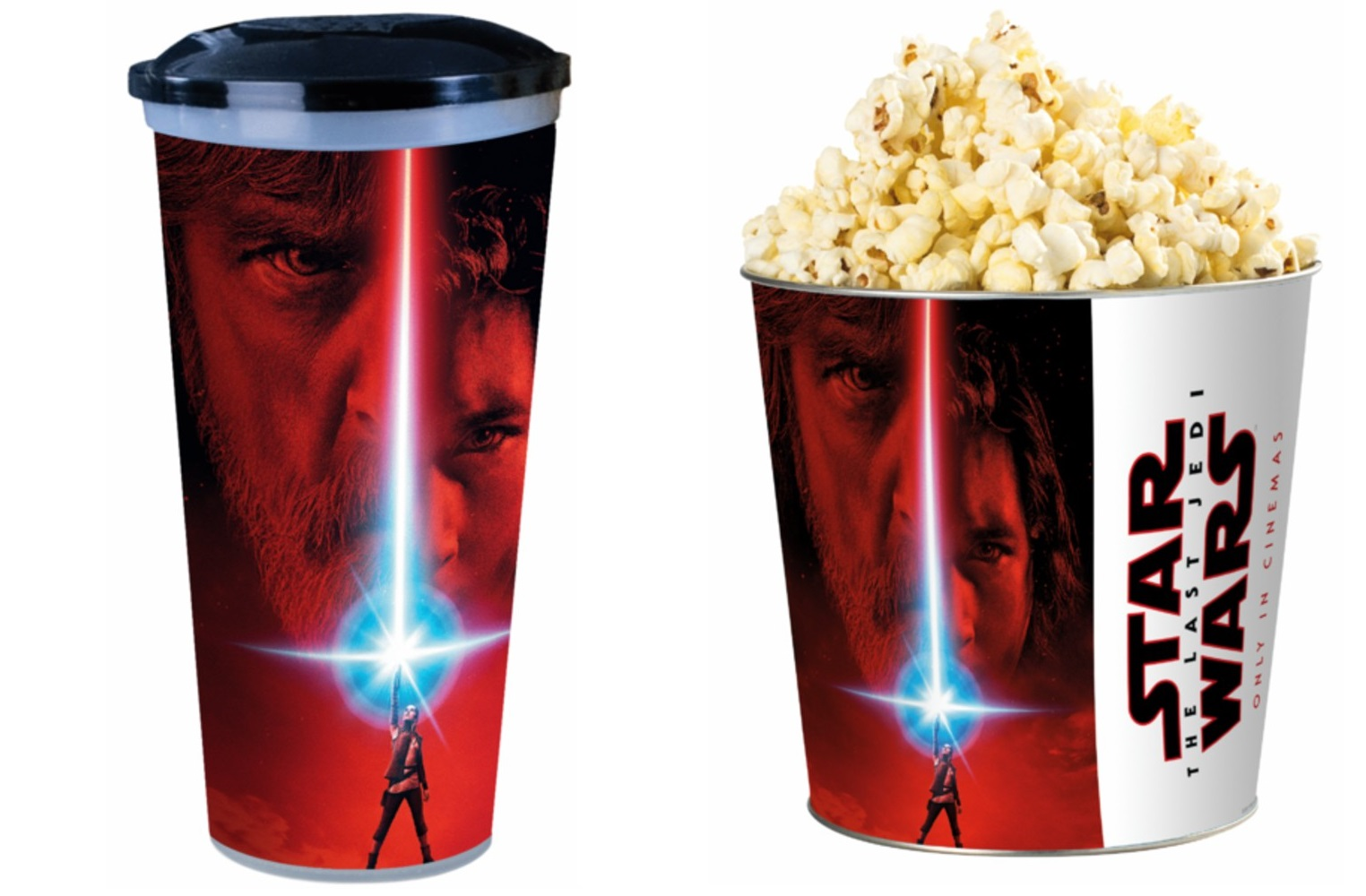 TLJ cups and toppers